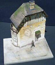 """Dioramas Plus 1/35 """"Juno Beach House"""" French 2-Story Building Section +Base DP17"""