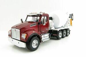 Diecast Masters 71062 Kenworth T880 Red Cement Mixer McNeilus 1:50