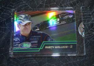 2003 ETOPPS NASCAR DRIVERS RUSTY WALLACE # 2 CARD