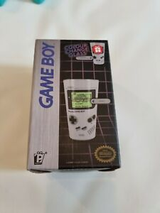 New Gameboy COLOUR CHANGE GLASS NINTENDO SUPER MARIO BROS IMAGE  GLASS BOXED.