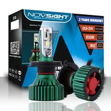 NOVSIGHT H4 600W 16000LM LED Car Headlights Kit Hi/Lo Beam Power Bulbs 6500K