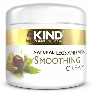 5Kind Varicose and Spider Veins Smoothing Natural Treatment Cream for Tired Legs