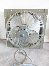 Dayton Exhaust Window Fan With 16 Blades Plug In