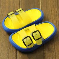 Bébé Enfant Fille Garçon Été Bout Ouvert Chaussures Maison Sandales Décontracté