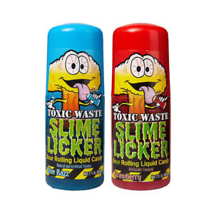 toxic waste slime lickers candy (1) Red or Blue