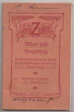 Zittau und Umgebung Richard Kramer 1901 schön illustriert mit Stadtplan ! (H6