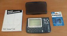 Texas Instruments TI-Voyage 200 CAS Graphikrechner / graphischer Taschenrechner