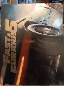 Fast & Furious 5 Limited Steelbook edition Blu Ray (2011)
