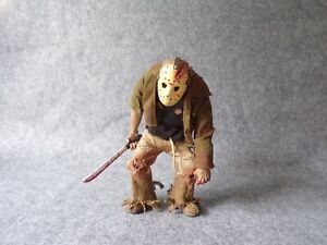 Mezco Cinema of Fear Friday the 13th Jason Voorhees Action Figure, Horror Model