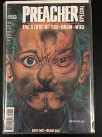 1996 DC VERTIGO COMICS PREACHER SPECIAL THE STORY OF YOU KNOW WHO #1 First Print