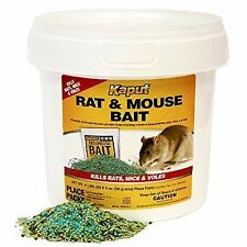Kaput Rat/Mouse/Vole Bait Place Packs 32ct- Warfarin