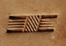 Tandy Leather CRAFTOOL  Stamping Tool  -  Basketweave  - X505  or  6505 Saddlery