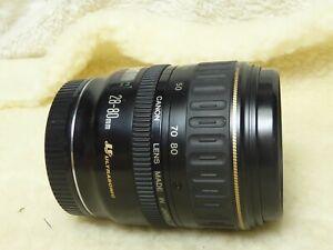 Canon 28-80mm lens MK 1 mk i ultrasonic metal mount Japanese made f3.5-5.6 rare