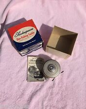 Vintage SHAKESPEARE #1826 TRU ART Automatic FLY REEL With Box & Care Parts Book