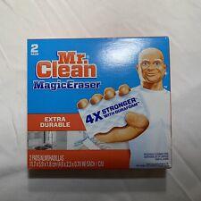 Mr Clean Extra Durable Magic Eraser, 2 Pads Per Box
