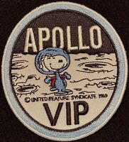 APOLLO SNOOPY VIP - NASA - 1969 MOON LANDING SPACE PATCH - 3""