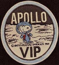 """APOLLO SNOOPY VIP - NASA - 1969 MOON LANDING SPACE PATCH - 3"""""""