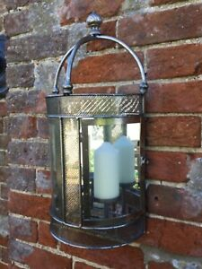 Mirror Wall Mounted Candle Holder