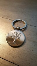 PAMA Pomegranate Liqueur NEW Silver Plated LOGO Keychain Promotional Key Ring