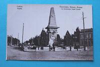 Bulgarien AK Sofia 1910-20 Strasse Monument Vassili Levski Häuser Gebäude Ort ++