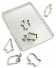 Martha Stewart Collection 7pc Cookie Sheet & Cutter Set with recipes.