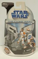 STAR WARS CLONE COMMANDER CODY ACTION FIGURE THE CLONE WARS SEALED