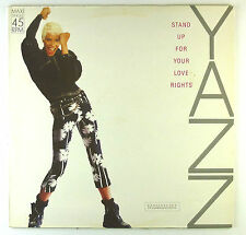 "12"" Maxi - Yazz - Stand Up For Your Love Rights - C2183 - Red vinyl"