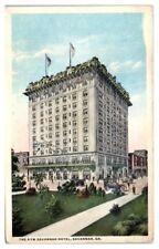 New Savannah Hotel, Savannah, GA Postcard