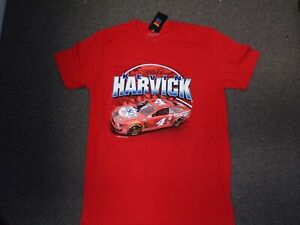 #4 Kevin Harvick Busch Light Apple NASCAR T-Shirt NEW Red NWT