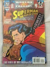 SUPERMAN THE MAN OF STEEL #28 FALL OF METROPOLIS DC Comics 1994