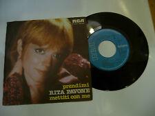 "RITA PAVONE""PRENDIMI disco 45 giri RCA italy 1979"""