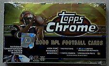2000 Topps Chrome Football Sealed Hobby Box Possible Urlacher,Jones Rookies!!