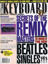 1996 Keyboard Magazine AKAI DR8 Review, Beatles Digital Revolution, Remix Secret