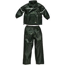 Dickies Enfants Vert Imperméable Costume Âge 7-8 Years Vermont WP11000 Enfants