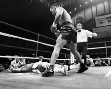 1988 Boxers MIKE TYSON vs MICHAEL SPINKS Glossy 8x10 Photo KO Print Poster