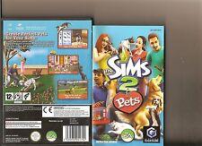 THE SIMS 2 Pets NINTENDO GAMECUBE/Wii simulatore di vita
