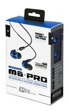 MEE Audio M6 PRO Noise-Isolating In-Ear Monitors with Detachable Cables BLUE