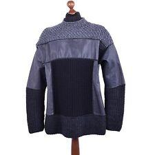 Grobe Herren-Pullover aus Wolle mit