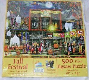 """Sunsout """" FALL FESTIVAL """" Puzzle 500 pieces"""