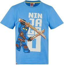 Lego NINJAGO original + neu Jungen Gr.140 sky Ninja T-Shirt Legowear P06-13