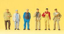 Preiser 14087 Walking Workers 00/H0 Model Railway Figures