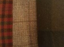 Felted Wool Bundle (Qty 3) 24 x 26 in Plaid Colors pkg #A68