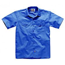 Camicie casual da uomo blu ampio