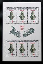 TIMBRES DE TCHECOSLOVAQUIE : 1983 YVERT N° 2540** NEUF FEUILLES DE 6 TIMBRES TBE
