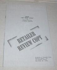 TUROK: EMPTY SOULS Retailers Copy (1997)  #1B Acclaim  Comics VF/NM