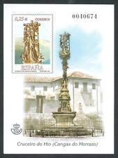 ESPAÑA 2002 - PRUEBA DE LUJO OFICIAL Nº 79  - ARTE ESPAÑOL - CRUCERO DO HIO
