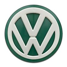 Vintage VW Bus Front Emblem Vintage Design Circle Sign