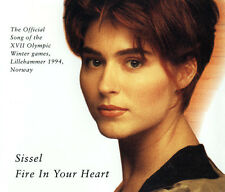Sissel ‎Maxi CD Fire In Your Heart - Germany (EX+/EX+)