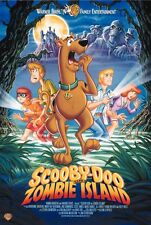 Scooby Doo On Zombie Island Movie Poster 18'' X 28''
