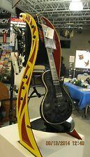 Rhapsody badazz guitar stand custom guitar yellow and red metal guitar stand